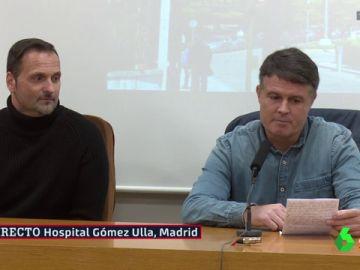 Pedro Morilla y Oliver Cuadrado, dos de los españoles repatriados de Wuhan