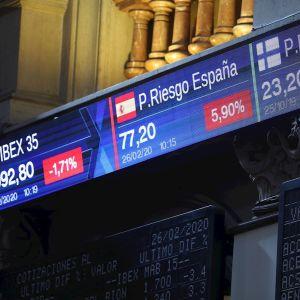 Prima de riesgo española