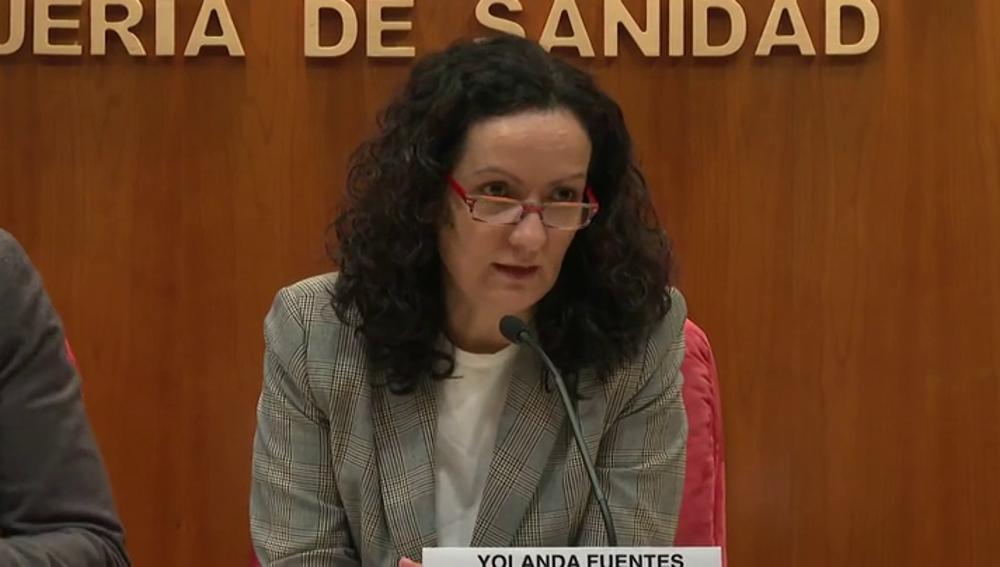 Yolanda Fuentes, directora general de Salud Pública de Madrid