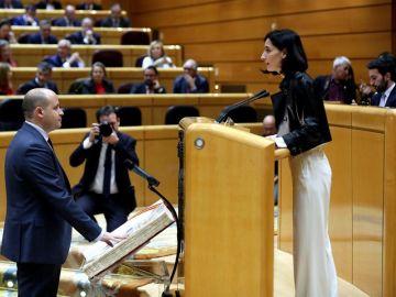 La presidenta del Senado, Pilar Llop