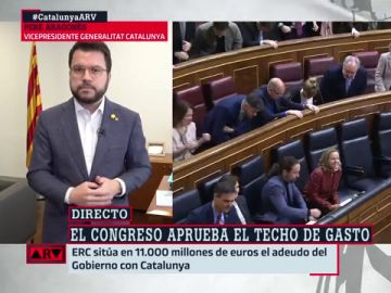 """Pere Aragonès, tras el 'no' de Junts a la senda de gasto: """"Ellos sabrán lo que hacen"""""""