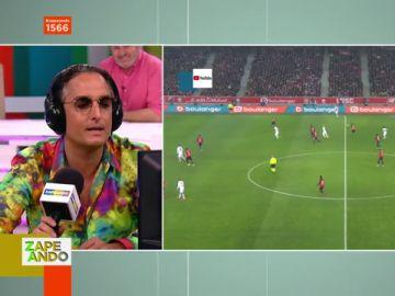 """""""Gordi, es gol"""": la sorprendente retransmisión de Josie de un partido de fútbol"""