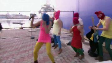 Pussy Riot, el azote de Putin: así fue su polémica primera aparición del grupo feminista en Sochi