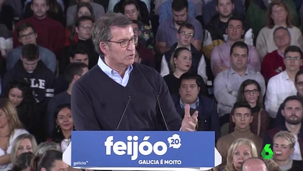 Rajoy y Casado arropan a Núñez Feijóo en el inicio de la precampaña de cara a las elecciones en Galicia