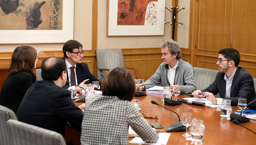 Reunión del Ministerio de Sanidad