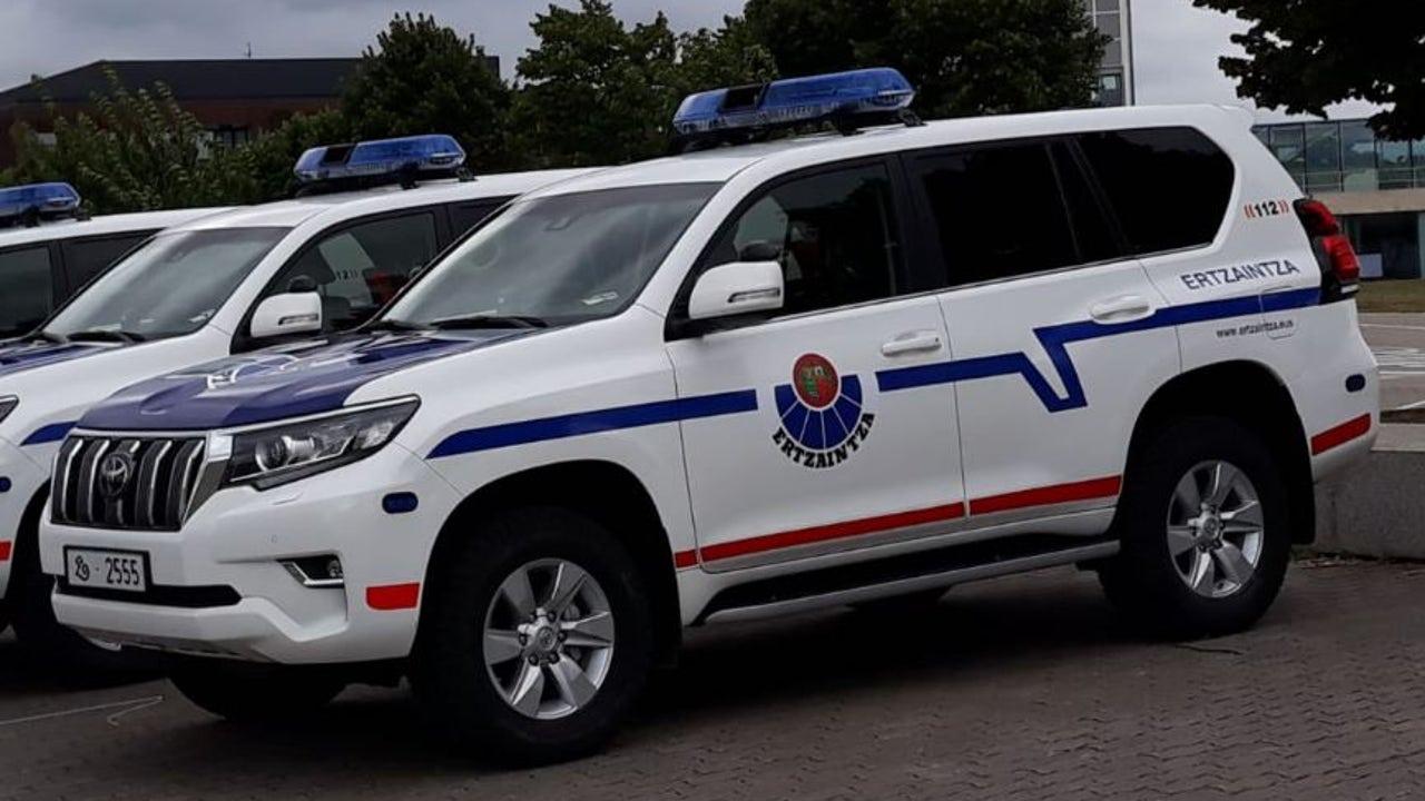 Coche patrulla de la Ertzaintza