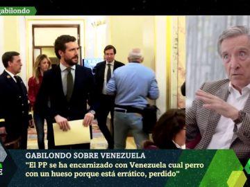 """Iñaki Gabilondo: """"El PP está perdido y Casado errático, ha convertido Venezuela en el centro de atención nacional"""""""