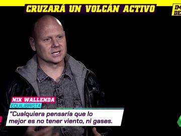 cruzar volcan