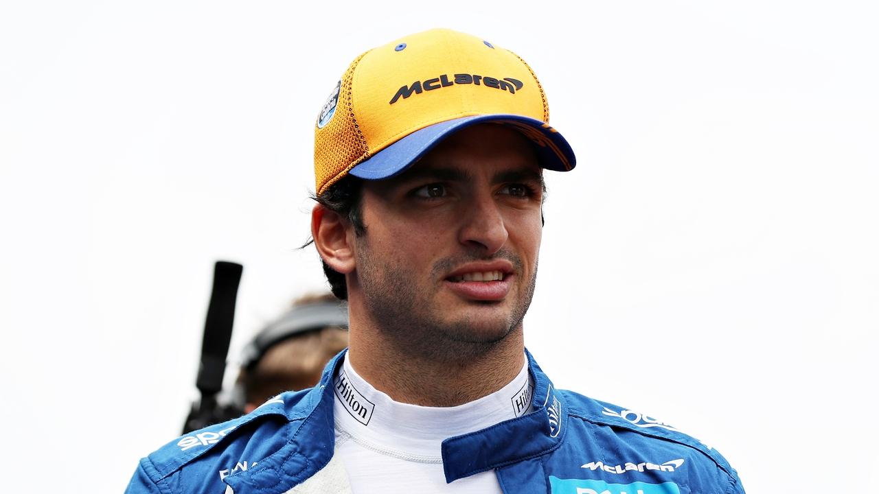 Carlos Sainz en el Gran Premio de México