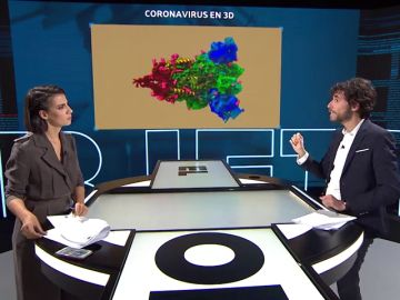 La imagen más real que conoce hasta el momento del coronavirus en 3D