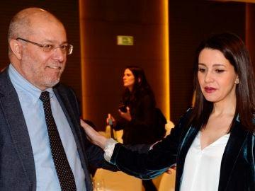 Francisco Igea e Inés Arrimadas