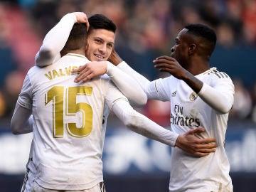 Valverde, Jovic y Vinicius