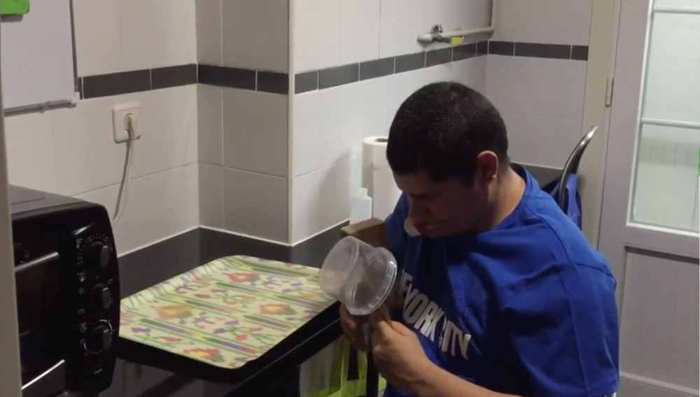 Persona con trastorno del espectro autista