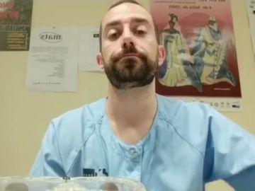 Rubén, enfermero de Madrid