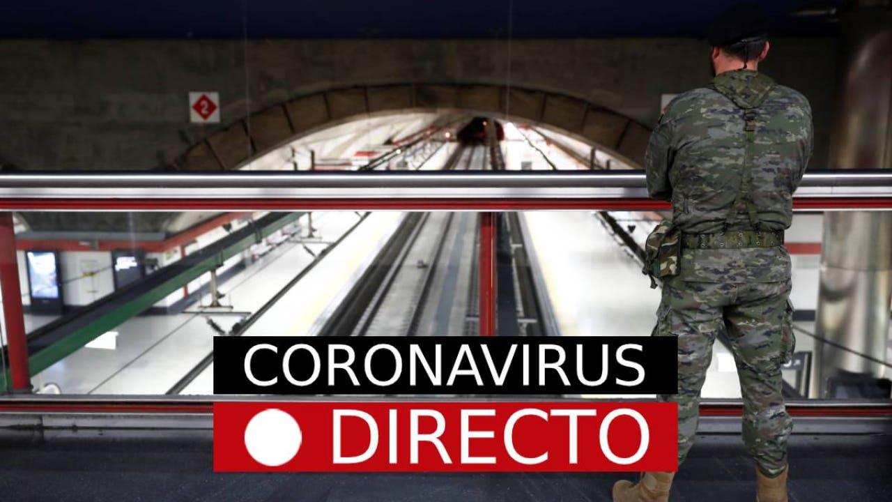 Coronavirus   Última hora de los nuevos casos infectados por covid-19 en España e Italia, EN DIRECTO