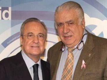 Florentino Pérez, con Lorenzo Sanz