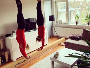 Sanne Wevers y su hermana