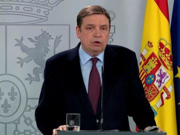 El ministro de Agricultura Luis Planas