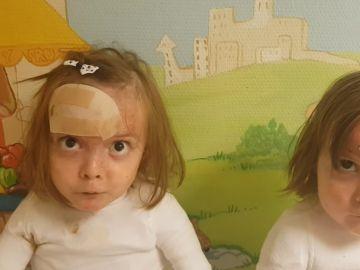 Las hermanas Noa y Carla