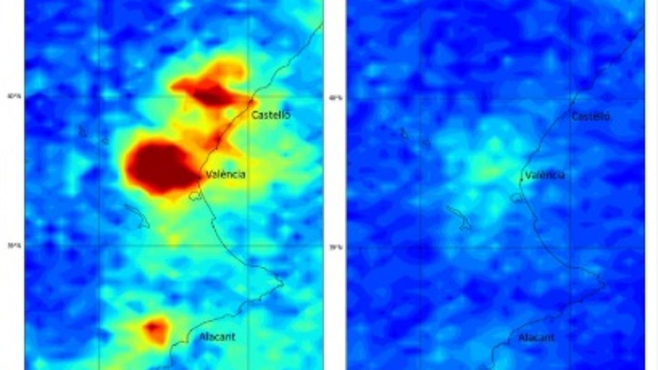 Disminución en las emisiones en la Comunidad Valenciana