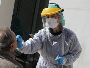 Prueba de detección del coronavirus