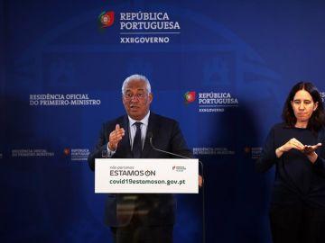 El primer ministro luso, Antonio Costa