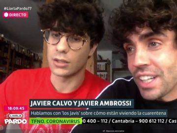 Los Javis en Liarla Pardo