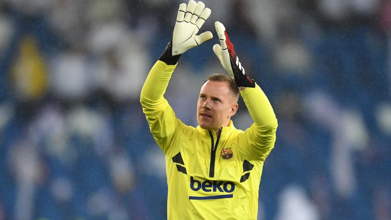 Ter Stegen, con el Barça