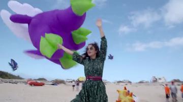 """Marta Torné en el Festival de Cometas de Fuerteventura: """"Me siento como en un sueño"""""""