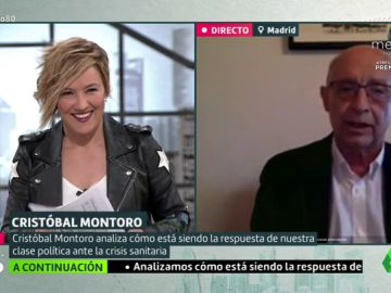"""Cristóbal Montoro: """"Ya me gustaría coincidir en que la recuperación va a ser rápida"""""""