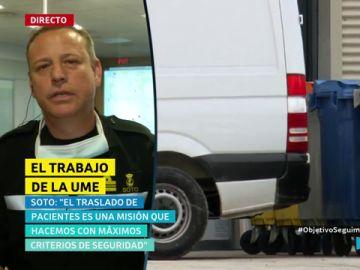 Aurelio Soto, portavoz de la UME
