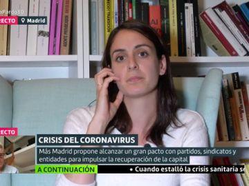 Rita Maestre, portavoz de Más Madrid