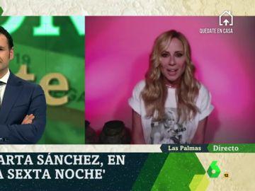 """Marta Sánchez: """"Me gustaría no tener tanto temor a pensar que nos cambie la forma de ser""""."""