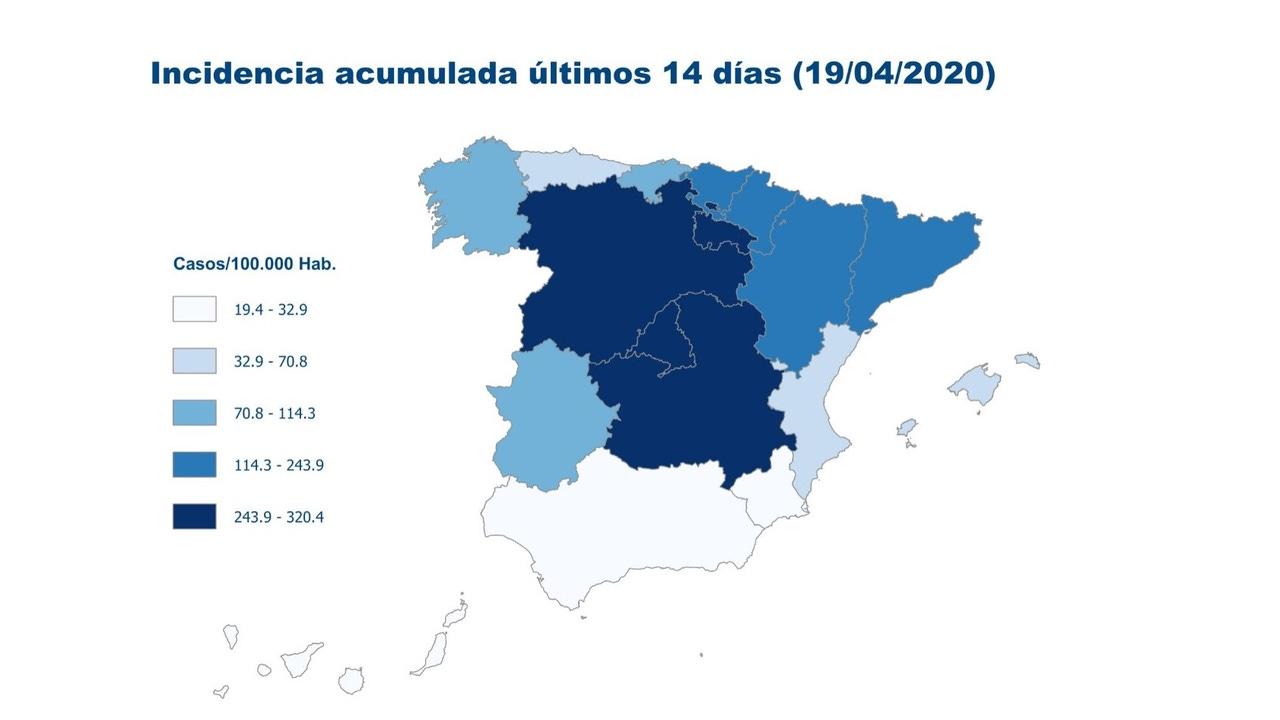 Afectación del Covid-19 en España