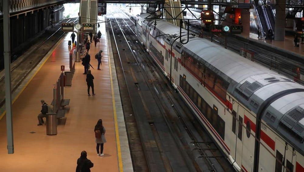 Imagen de archivo de la estación de cercanías de Atocha-Renfe de Madrid
