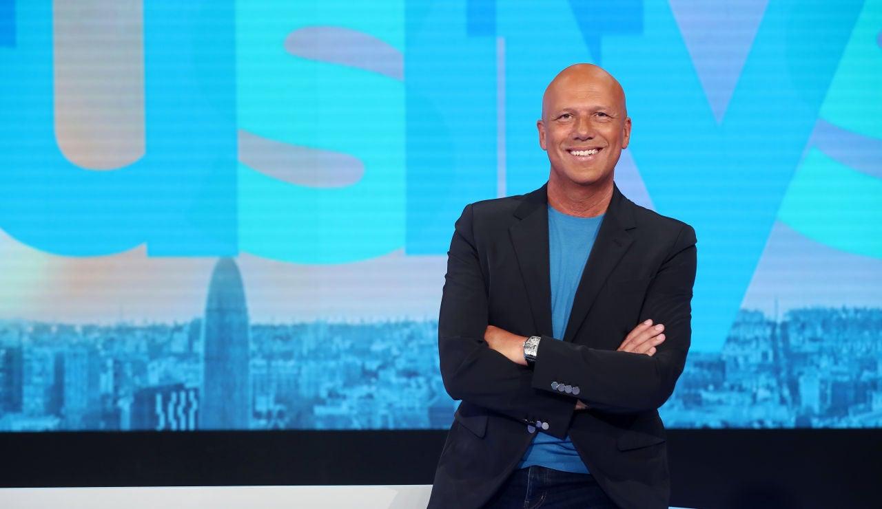 Alfonso Arús, presentador de Aruser@s