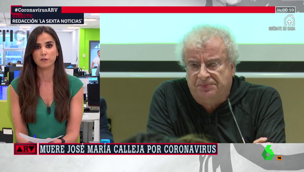 Jose María Calleja muere por coronavirus a los 64 años