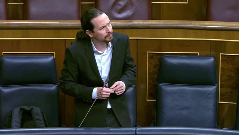 """Iglesias carga contra Vox por criticar el Ingreso Mínimo Vital: """"paguita es lo que recibió Abascal de Aguirre"""""""