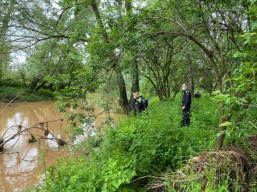 Operativo de búsqueda del hombre desaparecido durante el temporal