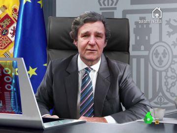 """La divertida imitación desde el futuro de Joaquín Reyes a Froilán, """"nuevo rey de España"""": """"¡Chúpate esa Leonor!"""""""