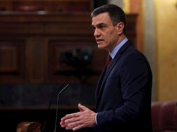 """Pedro Sánchez dice que el Gobierno pecó de """"prudencia"""" con los paseos de los niños"""