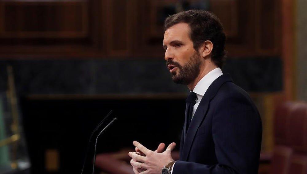 Pablo Casado en el Congreso