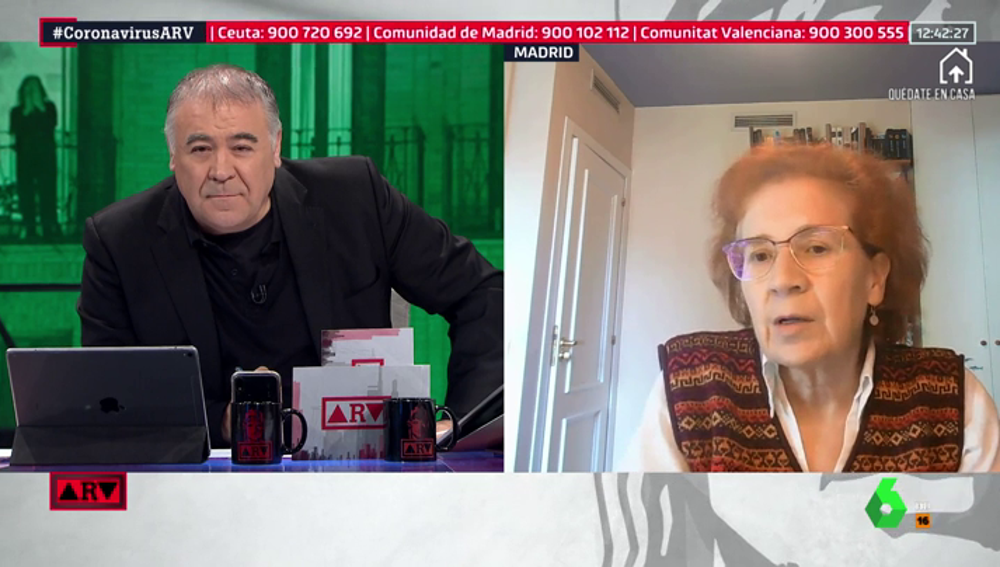 Margarita del Val, investigadora del CSIC