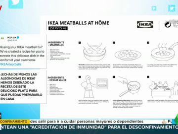 IKEA desvela su secreto mejor guardado: la receta de sus míticas albóndigas suecas