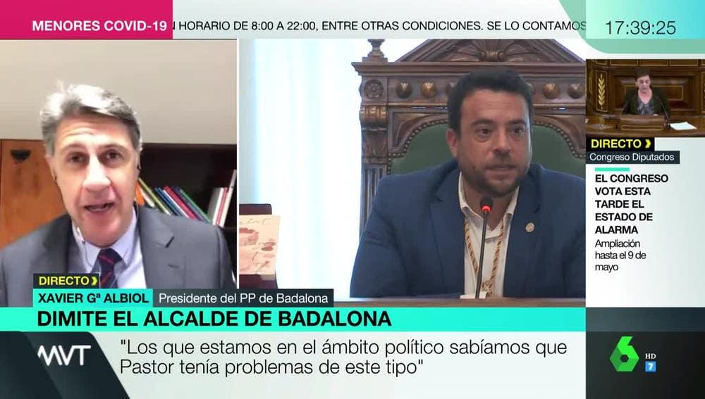 Xavier García Albiol en Más Vale Tarde