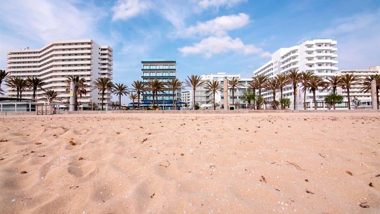 Hoteles cerrados en Palma por la crisis del coronavirus