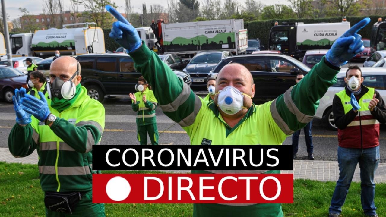 Coronavirus España | Última hora sobre los contagios, las muertes y el estado de alarma, en directo