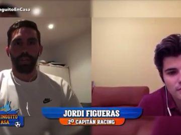 """Figueras, jugador del Racing: """"Está muriendo mucha gente como para que el fútbol vuelva tan deprisa"""""""