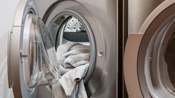 Imagen de archivo de una lavadora