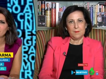 Margarita Robles, ministra de Defensa, en El Objetivo